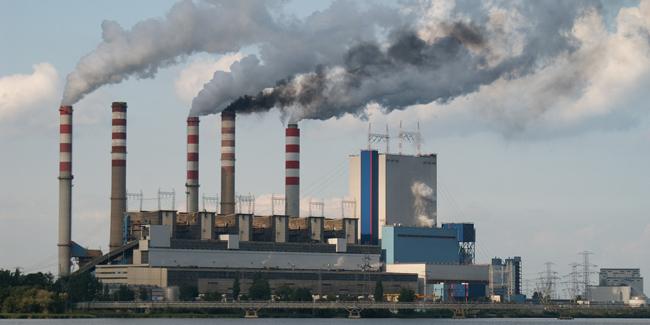 Contamination smog